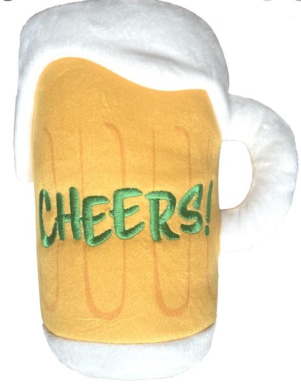 Lulubelles Power Plush CHEERS mug