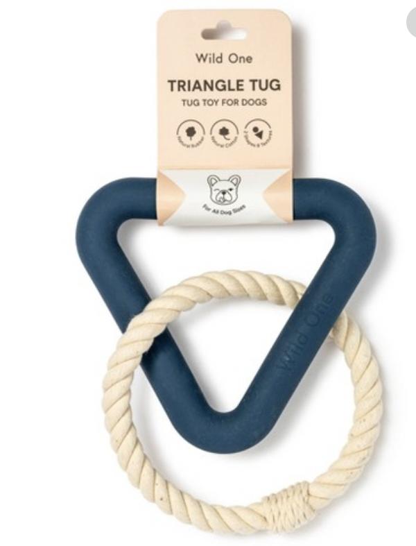Triangle Tug -- Blue