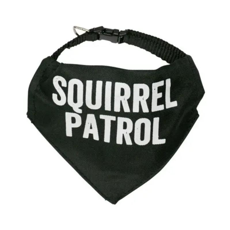 Squirrel Patrol Bandana Collar