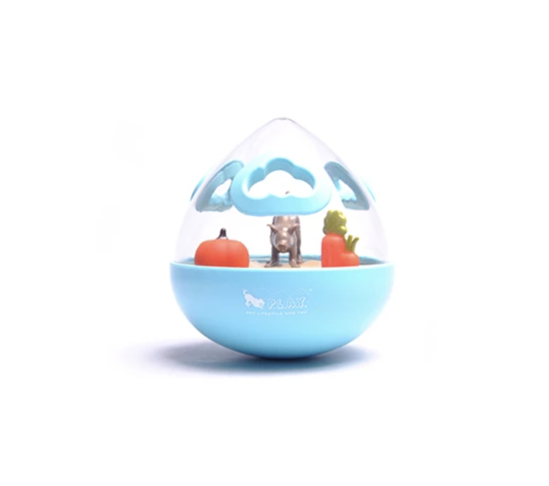 Wobble Ball Interactive Treat Toy BLUE