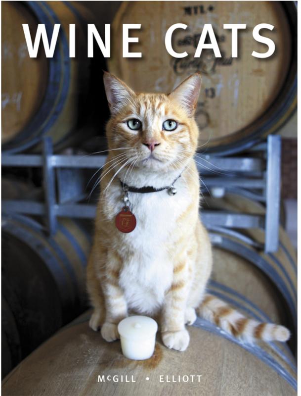 Wine Cats Book
