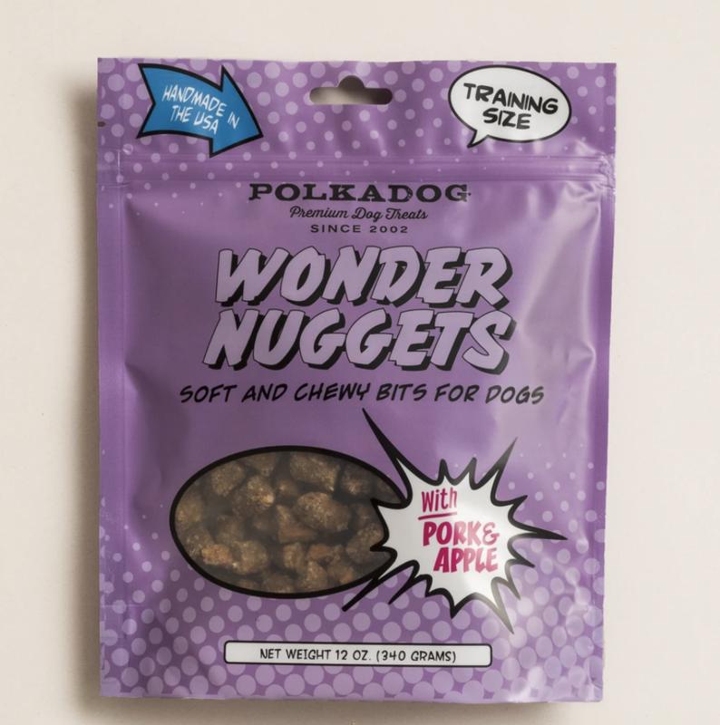 Polka Dog Wonder Nugget Pork & Apple 12 oz.
