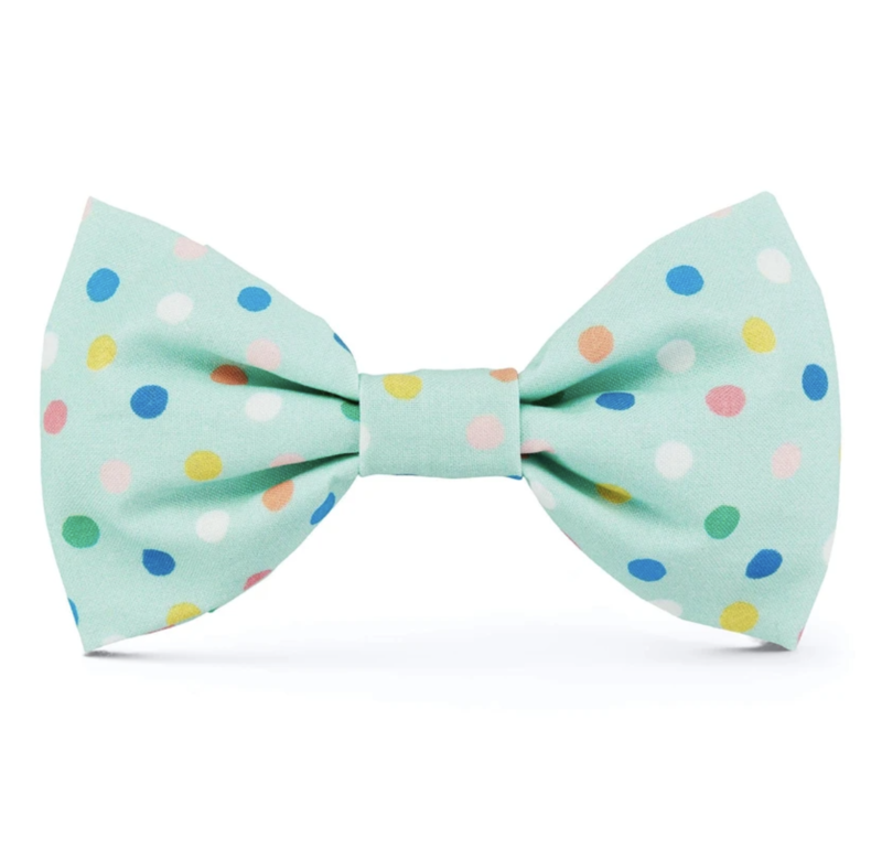 Foggy Dog Confetti Dots Bow Tie