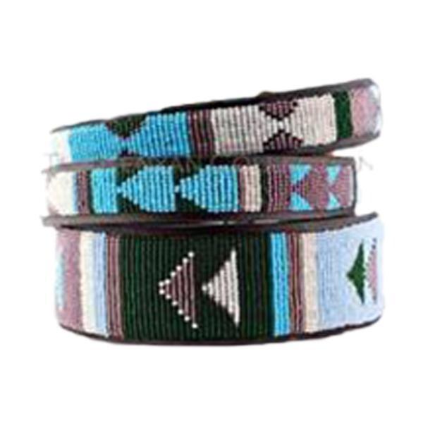 Kenyan Collection Jacaranda Beaded Dog Collar