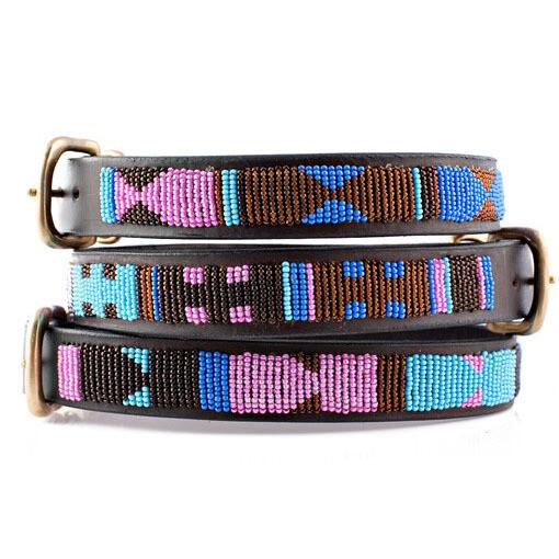 Kenyan Collection Malindi Beaded Dog Collar