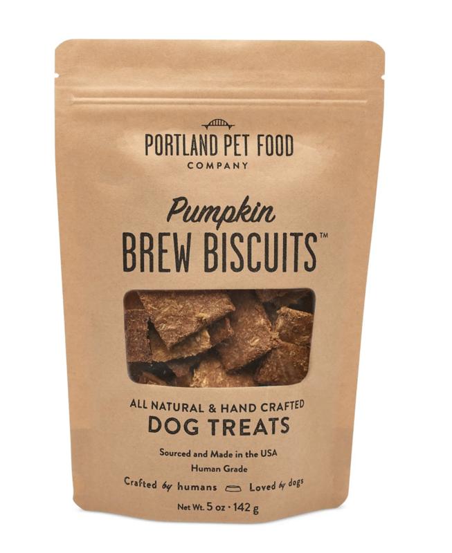 Portland Pet Pumpkin Brew dog biscuits