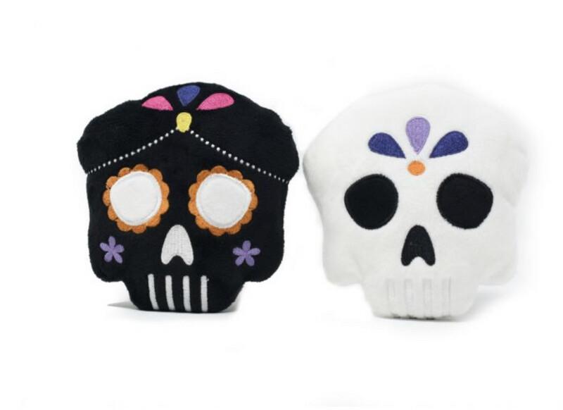 FuzzYard Halloween Skulls (2pk)