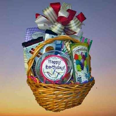 Birthday Gift Basket for One