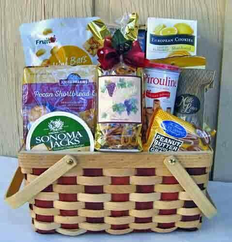 Bon Appetit PIcnic Gift Basket