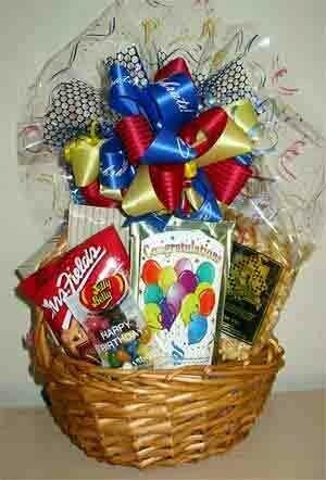 Congratulations Gift Basket for One