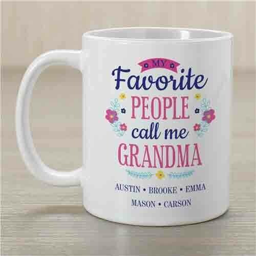 Personalized Mug for Grandma