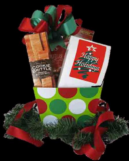 Cheap Christmas Gift Idea - Christmas Gift Basket