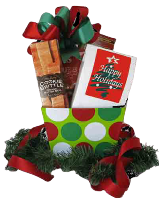 Cheap Christmas Gift Idea - Christmas Gift Basket