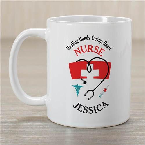 Personalized Nurse Coffee Mug