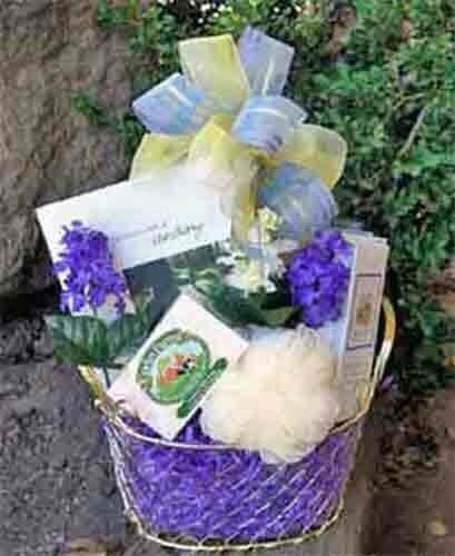 Pamper Gift Basket
