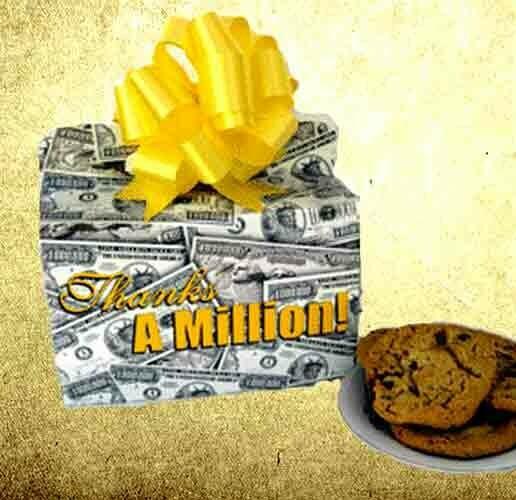 Thanks A Million Cookie Box