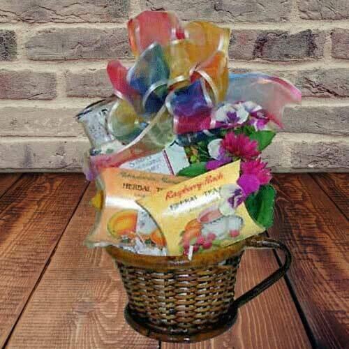 Unique Tea Gift Basket