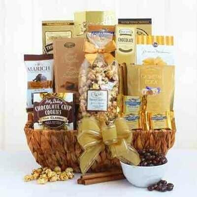 Gourmet  Desert Gift Basket