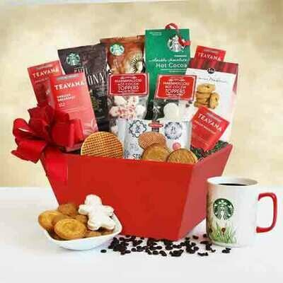 A Starbucks Christmas Morning Gift