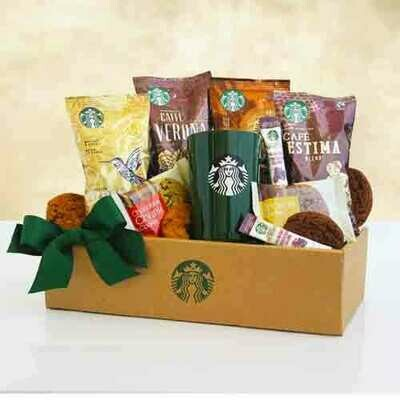 Starbucks Coffee Mornings Gift Box for one
