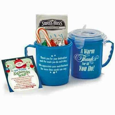 Snowman Soup Thank You Gift