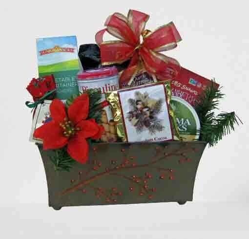 Celebrate the Holiday Gourmet Gift Basket