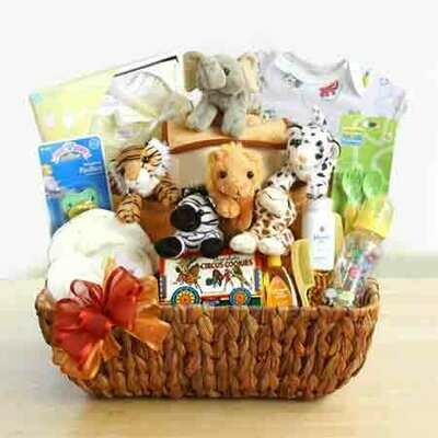Noah's Ark Gift Basket for Baby