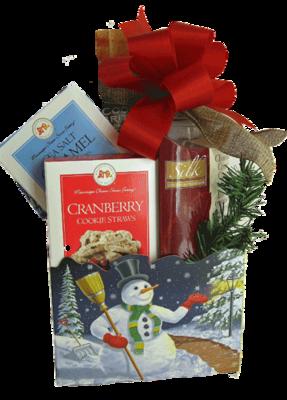 Snowman Holiday Gift Box