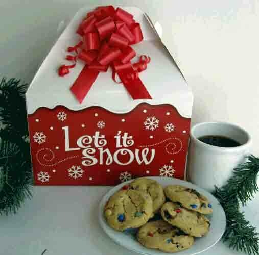 Let It Snow Cookies Gift Box