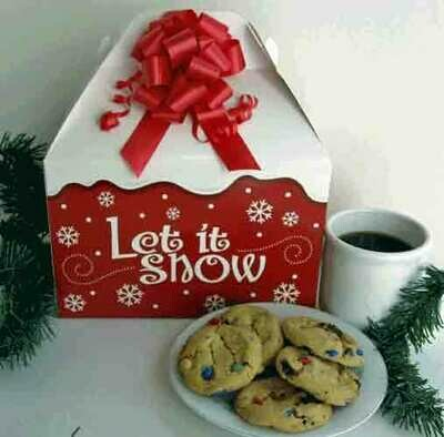 Let It Snow Holiday Cookies Gift Box