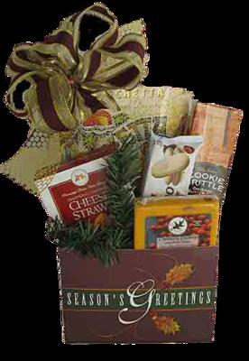 Season's Greeting Holiday Gift Box