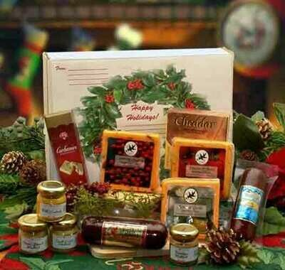 Happy Holidays Gift Box