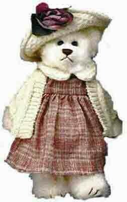 Lady Teddy Bear - We call her Rosemary!