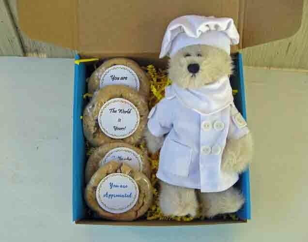Teddy Bear with Cookies - Choose Your Bear