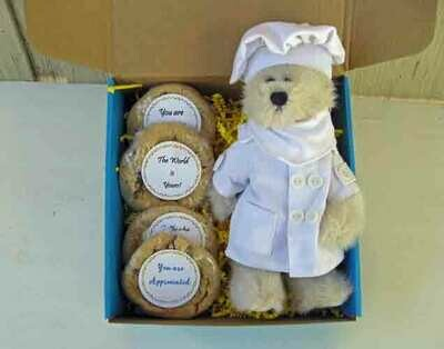 Teddy Bear with Cookies - Choose Your Bear