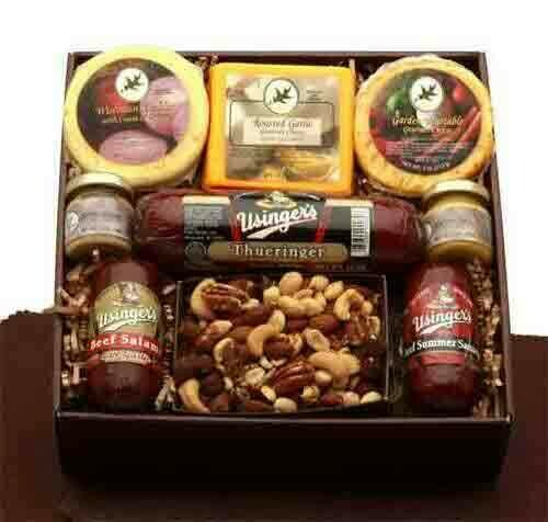 Deluxe Meat and Cheese Sampler