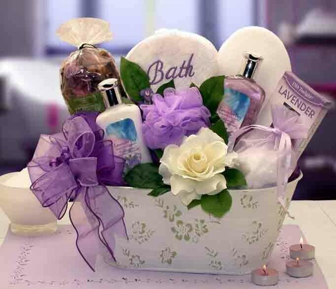 Tranquil Delights Spa Gift Basket