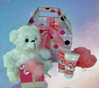 Teddy Bear Love Spa Gift Box