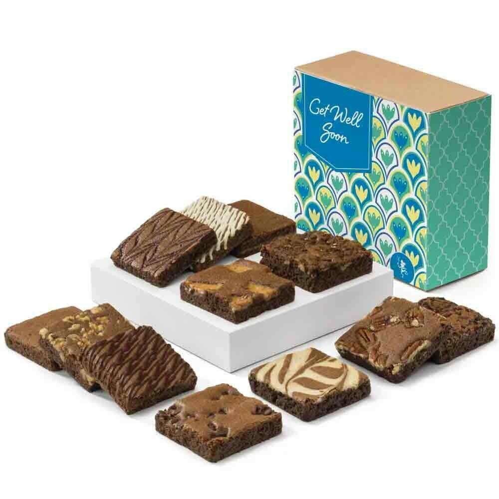 Get Well Brownies - FREE Shipping