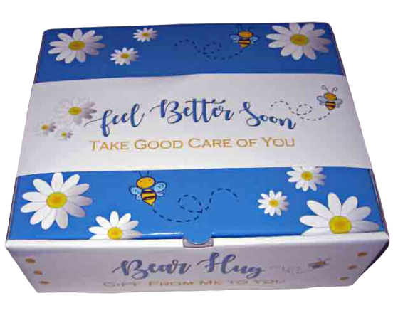Feel Better Soon Bear Hug Gift Box