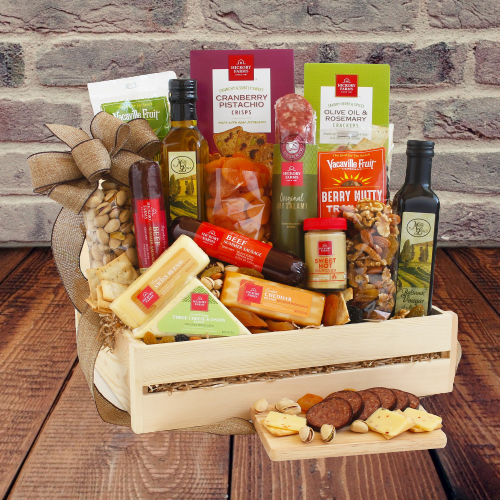 Ultimate Meat and Cheese Crate