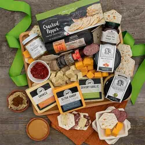 Deuxe Meat and Cheese Board for Any Occasion