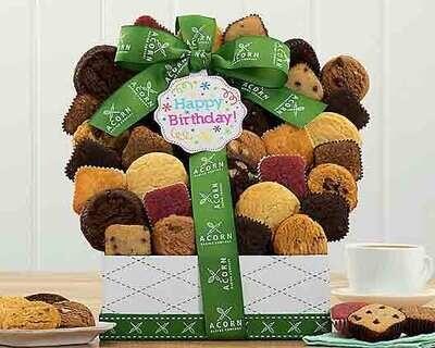 Happy Birthday Cookies Gift Basket