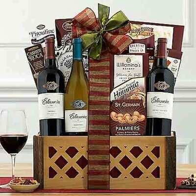 Monterey County wines and more gift basket