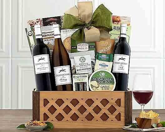 Wine and Dine Gift Basket