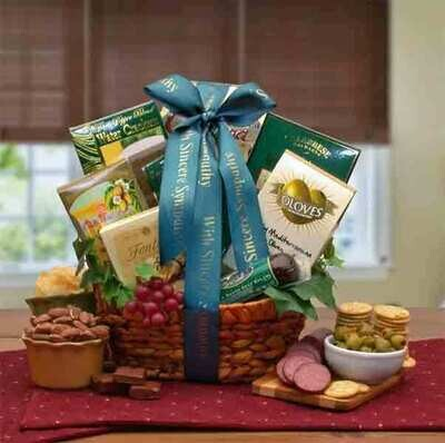 Sympathy Gift Basket - In Memory