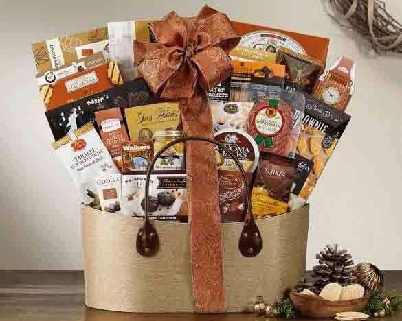 The Elegant Gourmet Gift Basket - FREE SHIPPING