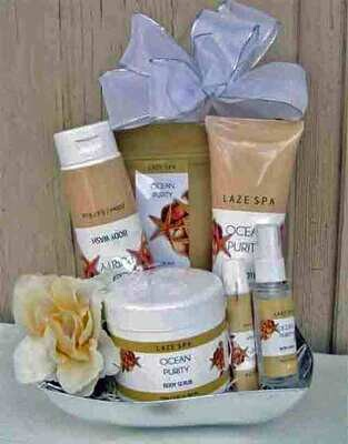 Pamper Yourself Spa Gift on Silver Tray