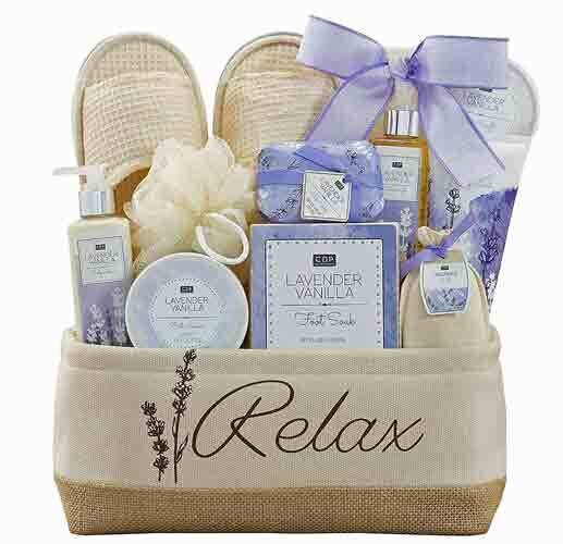 Relax with Lavender Gift Basket
