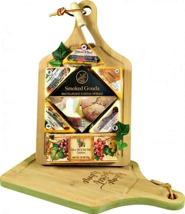 Gourmet Cheese and Crackers Board